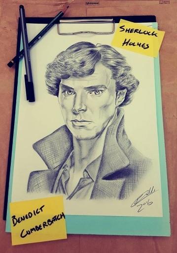Benedict Cumberbatch por RobertoMalta89